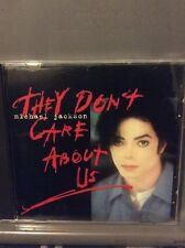 Michael Jackson CD They Don't Care About Us, Rock With You, Earth Song, Wanna Be