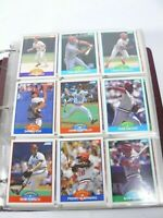 1989 Score Baseball Card Complete Set in Binder 660 player/56 Magic Motion Cards