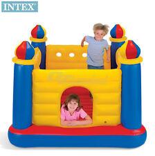 Intex Jump-O-Lene Castle Indoor Kids Pay Gym Bouncer Trampoline Max 2 children
