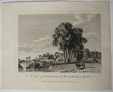 Gravure Ancienne XVIIIe MICHAEL ANGELO ROOKER 1775 SANDBY Cheval Calèche