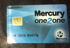 Mercury one2one mobile Vintage phone card