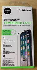 Belkin Apple iPhone X ScreenForce TemperedCurve Screen Protection (F8W867zzB)