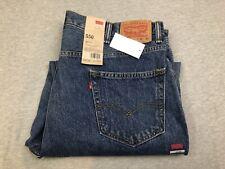 NEW Men's Levis 550 Relaxed Blue Denim Jeans NWT 42x32 100% Cotton