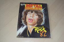 BD   METAL HURLANT   spécial rock 82    (73bis)