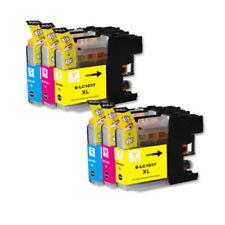 6 NON-OEM INK BROTHER LC-103 XL LC101 MFC-J4610DW MFC-J470DW MFC-J4710DW J475DW