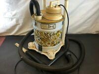 Vintage Walton Wet Dry Power Canister Vacuum Cleaner Attachments Tested Works