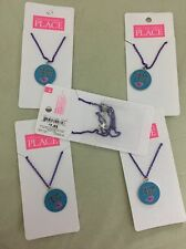 Fearless Necklace - Purple Chain - The Children's Place - New With Tags