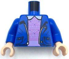 Lego Castle Medium Blue Jayko Minifig Torso w// White Geometric Pattern NEW