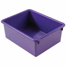 """Romanoff 5"""" Deep Stowaway Bin Set - Purple"""