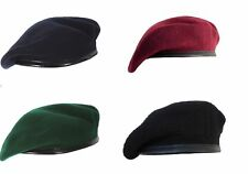 Beret cap Mix Wool Military Special French For Men (Blue,black,Green,Maroon)