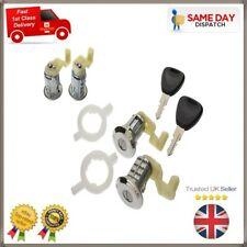Renault Master 98-08 Megane 96-03 Clio 98-05 2x Front Door Barrel Lock Set Keys