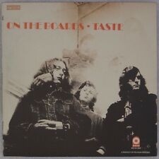 TASTE: On the Boards US Atco Blues Rock Orig '70 Vinyl LP Rory Gallagher