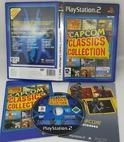 Capcom Classic Collection PS2 PlayStation 2 Video Game VGC UK Release FAST POST