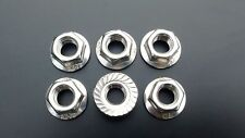 Stainless Steel Sprocket Nut Set for Kawasaki Zephyr 550 from 1991- 1998
