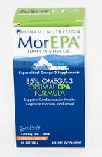 MorEPA Smart Fats High EPA Omega 3 Fish Oil 1 Pack Proven Quality Orange Flavour