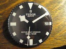 Tudor Geneva Rotor Self-Winding Black Watch Advertisement Pocket Lipstick Mirror