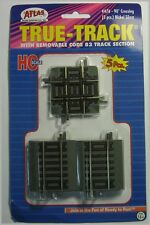ATLAS 476 HO Scale Code 83 True-Track 90 Degree Crossing