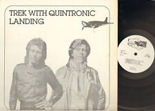 TREK with QUINTRONIC 1980 LP LANDING Paul Wilcox David Kane