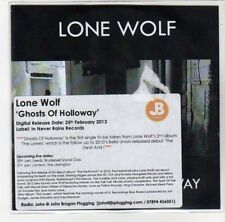 (DL240) Lone Wolf, Ghosts of Holloway - 2013 DJ CD