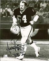 George Buehler Signed Raiders 8x10 Photo GAI/DNA COA Super Bowl XI Autograph 11