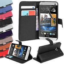 Custodie portafoglio Per HTC One in pelle sintetica per cellulari e palmari