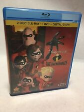 The Incredibles Blu-ray Dvd 2011 4-Disc Set Walt Disney 2011 Release Combo Pack