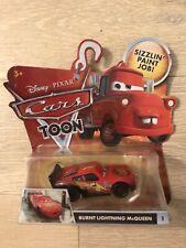 Disney Pixar Cars Toon BURNT LIGHTNING McQUEEN 1