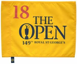 2021 OFFICIAL (Royal St George's) BRITISH OPEN Golf FLAG