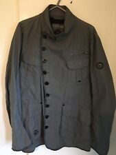 Mens Firetrap Military Style Jacket Large