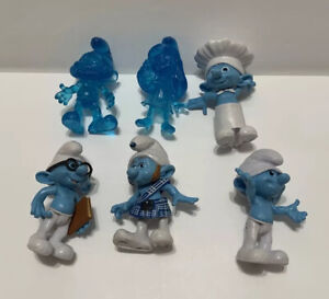 The Smurfs Escape From Gargamel Figures Lot Jakks 2011 Smurfette Grab'Ems