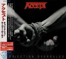 ACCEPT Objection Overruled+1 FIRST PRESS JAPAN CD OBI VICP-5210 U.D.O.