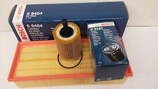 VW Golf MK5 2.0TDi Oil Air Filter Service Kit Bosch Sump Plug & Washer 2003-2009