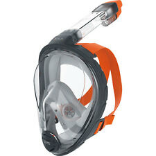 Ocean Reef Aria Full Face Snorkel Snorkeling Mask L/XL Grey