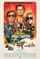 Once Upon a Time in Hollywood Movie POSTER 27 x 40 Leonardo DiCaprio, E