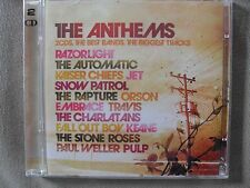 THE ANTHEMS  -  VARIOUS DOUBLE CD  -  RAZORLIGHT  -  THE STONE ROSES  -  ORSON