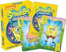 SPONGEBOB - PLAYING CARD DECK - 52 CARDS NEW - NICKELODEON TV 52491