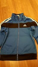 Boys Adidas Size 4 Zip up sweat shirt pre owned