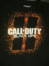 M black CALL OF DUTY BLACK OPS VIDEO GAME t-shirt by COD