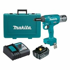 Makita BRUSHLESS RIVET GUN KIT DRV150RT 18V 4.8mm +5.0Ah Battery & Charger
