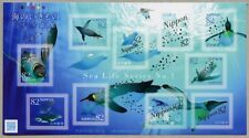 Japan 2017 Meerestiere Pinguine Penguins Sea Life Kleinbogen Postfrisch MNH