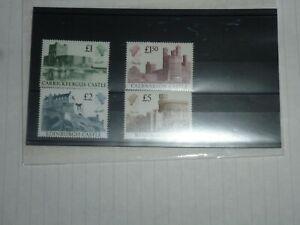 GB STAMPS SG 1410-1413 CASTLES, CV - £28.00 F.V.-£9.50