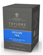 Taylors of Harrogate Ceylon Tea - 20 Wrapped & Tagged Tea Bags