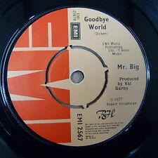 "45rpm / 7"" MR.BIG good bye / Romeo 1977 EMI 2567a"