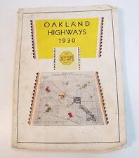 Oakland Highways 1930