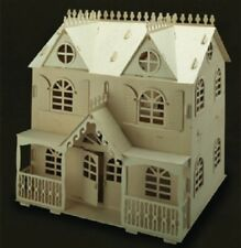 Dolls House VICTORIAN COTTAGE  Woodcraft Construction Kit