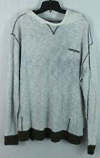 GONGSHOW men's XL Hooded Pullover Sweat-Shirt gray Sweater