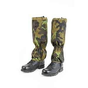Czech Army Professional Waterproof Gaiters M95 CZ Camo Pattern Brand New Model