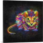 ARTCANVAS Rat Animal Rodent Canvas Art Print