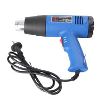 Pro 1500W Heat Hot Air Gun Blower 400°C/600°C Paint Drying Striping Tool