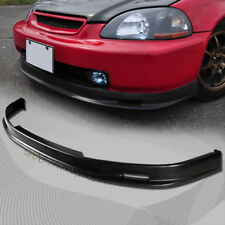 For 1999-2000 Honda Civic Mugen Style Polyurethane PU Front Lower Bumper Lip